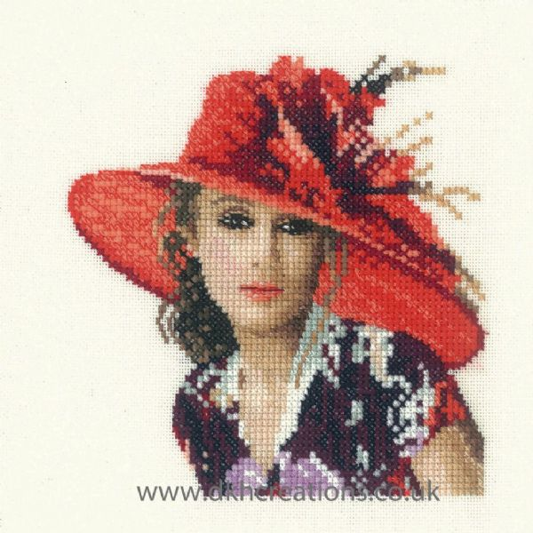 Victoria Miniature Evenweave Cross Stitch Kit
